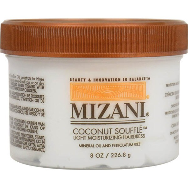 Mizani Coconut Souffle Light Moisturizing 8-ounce Hairdress
