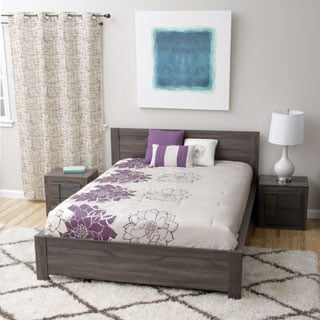 Maya Queen-size Bed and Two Nightstands Bedroom Set