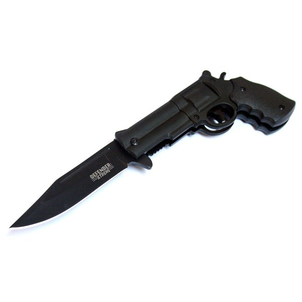 Defender 8.5-inch Spring Assisted Gun Folding Knife