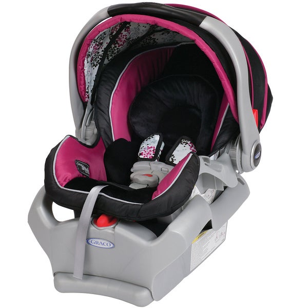 Hot Pink Baby Trend Car Seat