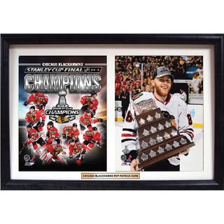 Chicago Blackhawks Patrick Kane 18 x 12-inch Double Custom Frame