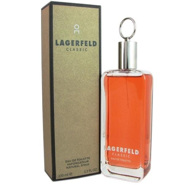 Lagerfeld Classic Men's 3.3-ounce Eau de Toilette Spray