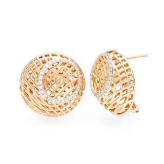 Neda Behnam DFAC 18k Gold 1/2ct TDW Diamond Earrings (H-I, SI1-SI2)