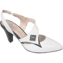 Women's Bellini Phoenix White/Black Kidskin