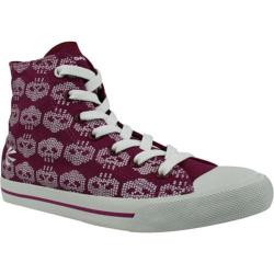 Women's Burnetie High Top Print 016233 Red