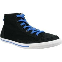 Men's Burnetie High Top Vintage 003133 Black