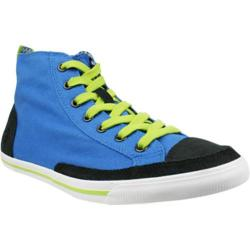 Men's Burnetie High Top Vintage 003133 Blue