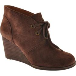 Women's Lucky Brand Sway Tobacco Suede