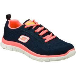 Women's Skechers Flex Appeal Sweet Spot Navy/Hot Pink