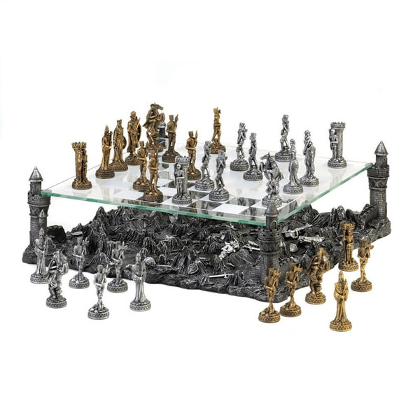 Medieval Warrior Chess Set