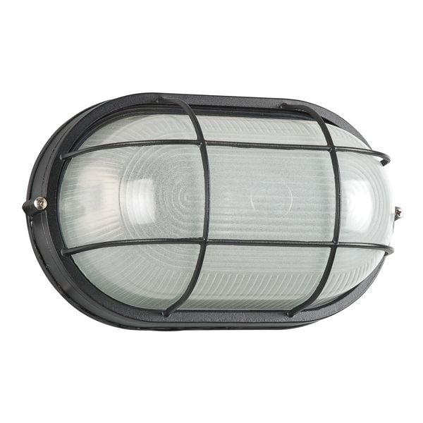 Outdoor Black Bulk Head Light