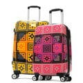 Olympia 'New Age' Art Series 25-inch Medium Hardside Spinner Upright Suitcase