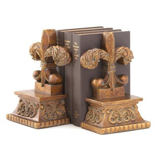Fleur-de-lis Bookends (Set of 2)