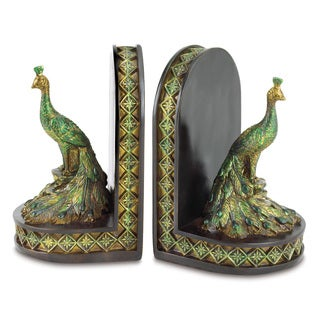 Peacock Bookends (Set of 2)