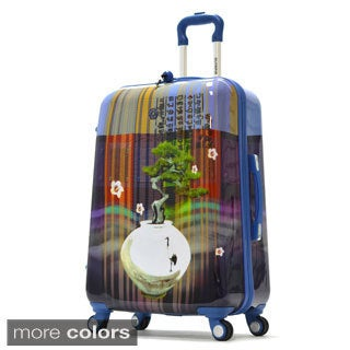 Olympia 'Arirang' Art Series 25-inch Medium Hardside Spinner Upright Suitcase