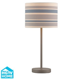 Metal 1-light Matte Grey Table Lamp