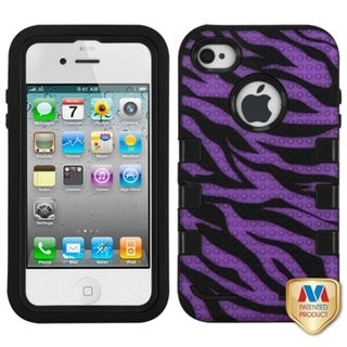 INSTEN TUFF eNUFF Hybrid Phone Case Cover for Apple iPhone 4S/ 4
