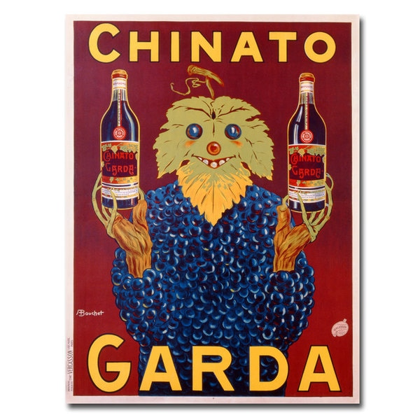 Bouchet 'Chinato Garda' Canvas Art