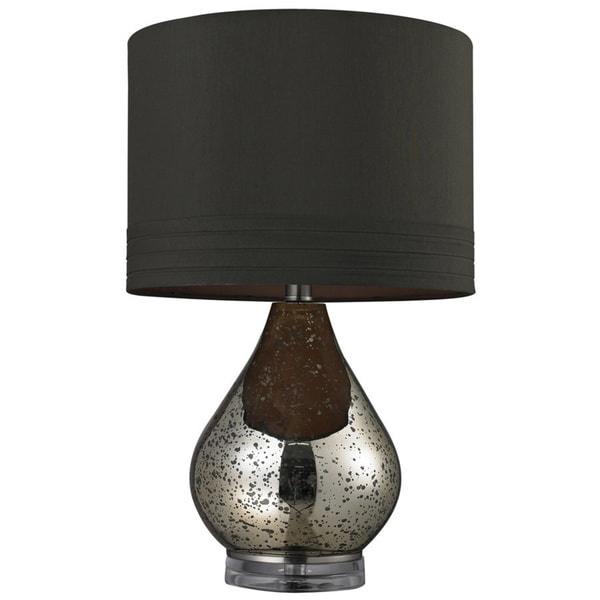 Mercury Glass 1-light Gold Table Lamp