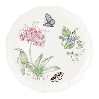 Lenox Butterfly Meadows Blue Butterfly Dinner Plate