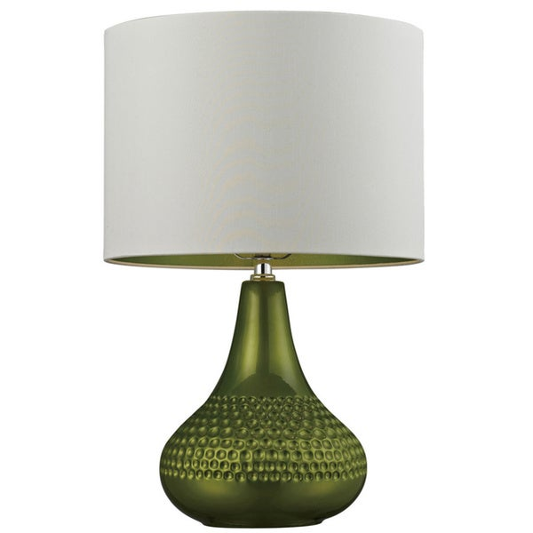 Kichler Lighting 1 Light Green Glass Table Lamp