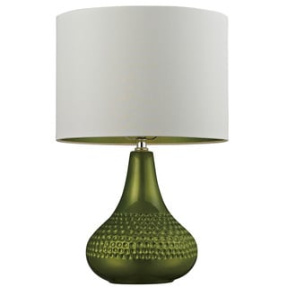 HGTV HOME Ceramic 1-light Bright Green Table Lamp