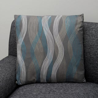 Seego Charcoal Decorative Pillow (India)
