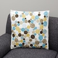 Blue polka dots Decorative Pillow (India)