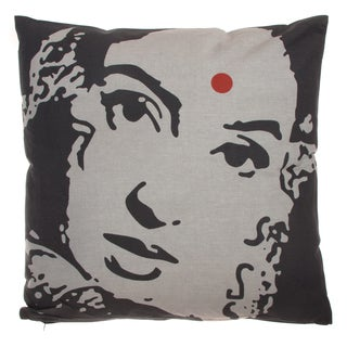 Ikat Filled Decorative Cushion (India)