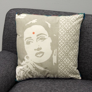 Bollywood Filled Decorative Cushion (India)