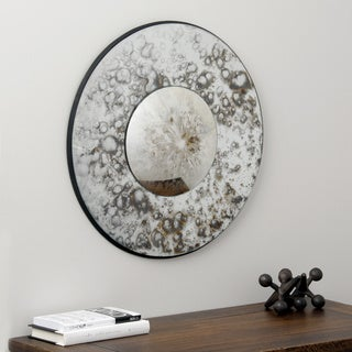 Antique Profile with Antique Glass Mirror (India)