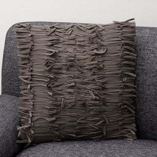 Ginger Taupe Decorative Pillow (India)