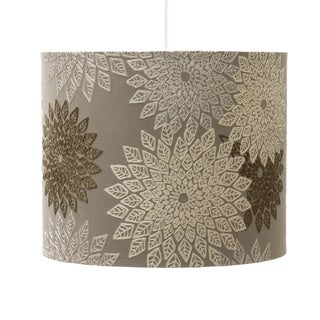 Masai Chocolate Brown Floral Design Chandelier Shade India