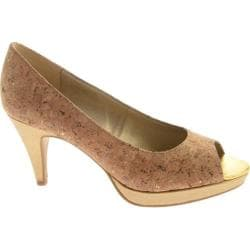 Women's Bandolino Mylah Light Gold Fabric