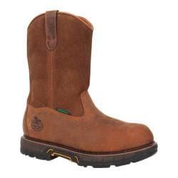 Men's Georgia Boot GBOT021 11in Wellington Diamond Trax Composite Toe Dogwood