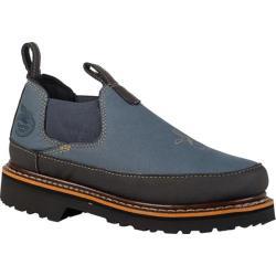 Women's Georgia Boot GR186 Giant Romero Work Shoes Midnight Blue Leather