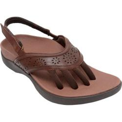 Women's Wellrox Nia Brown Leather
