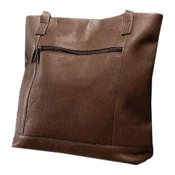 Women's David King Leather 1065 Shopper Cafe