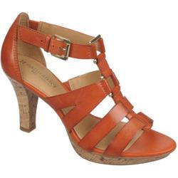 Women's Naturalizer Dafny Groovy Orange Atanado Veg Leather