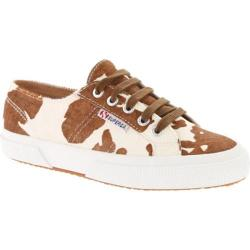 Women's Superga 2750 Leahorse Brown/Off White