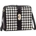 Women's SUSU Handbags Baxter Crossbody Houndstooth