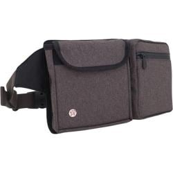 Token Lexington Waist Bag Tweed Dark Brown