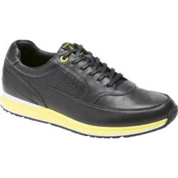 Men's Rockport CSC Mudguard Oxford Black/Yellow Leather