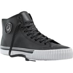 PF Flyers Center Hi Black Leather