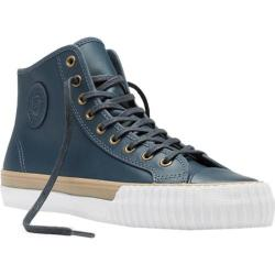 PF Flyers Center Hi Leather Blue Leather