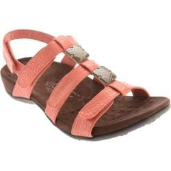 Women's Vionic with Orthaheel Technology Amber Coral Croco