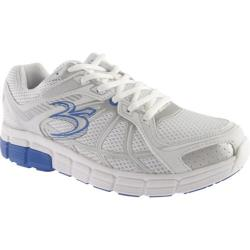 Men's Gravity Defyer Super Walk White/Blue Mesh