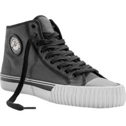 PF Flyers Center Hi Black/Dark Grey Canvas