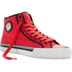 PF Flyers Center Hi Red Canvas/Black