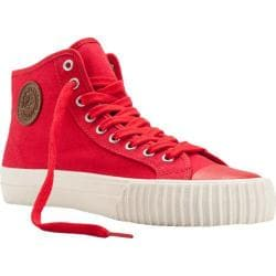 PF Flyers Center Hi Red/Red Canvas